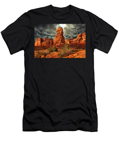 Towering Rock Men's T-Shirt (Athletic Fit)