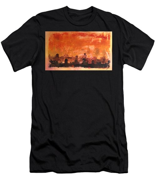 Towers And Tanks Men's T-Shirt (Athletic Fit)