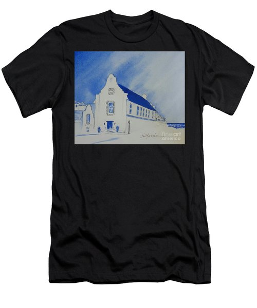 Town Hall, Rosemary Beach Men's T-Shirt (Athletic Fit)