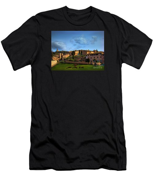 Town Of Assisi, Italy II Men's T-Shirt (Athletic Fit)