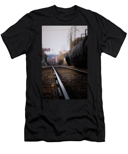 Track Life Men's T-Shirt (Athletic Fit)