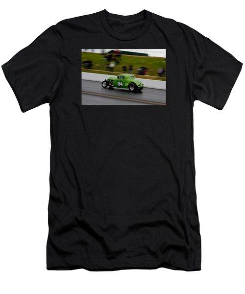 Track Time - Santa Pod Men's T-Shirt (Athletic Fit)