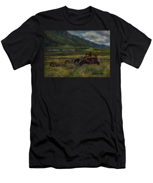 Tractor From Swan Valley Men's T-Shirt (Athletic Fit)