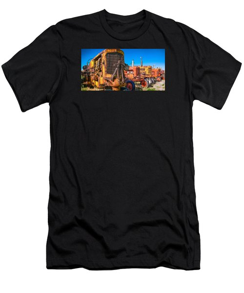 Men's T-Shirt (Athletic Fit) featuring the photograph Tractor Supply by Daniel George