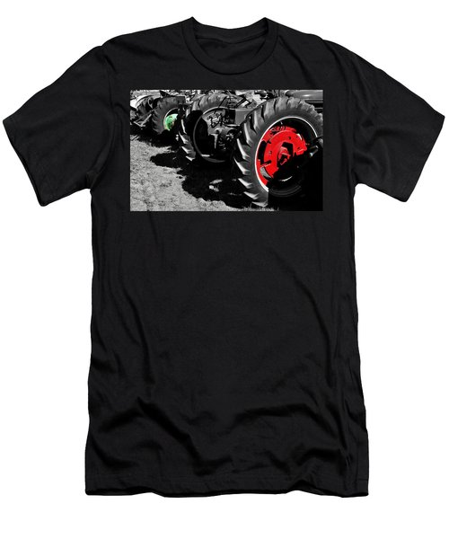 Tractor Wheels Men's T-Shirt (Athletic Fit)
