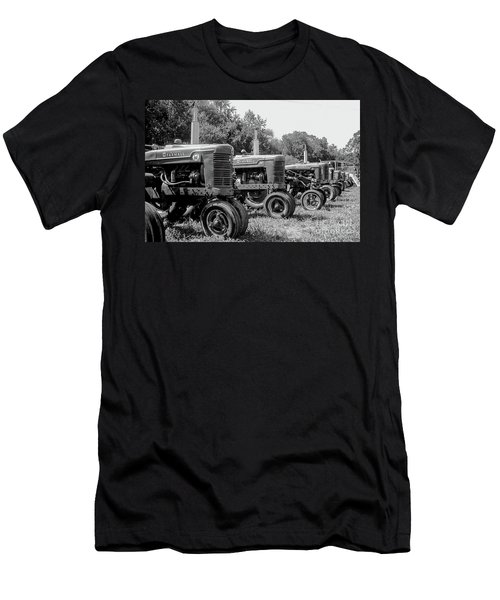 Men's T-Shirt (Slim Fit) featuring the photograph Tractors by Brian Jones