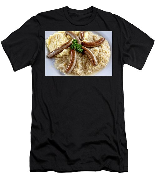 Traditional German Food Men's T-Shirt (Athletic Fit)