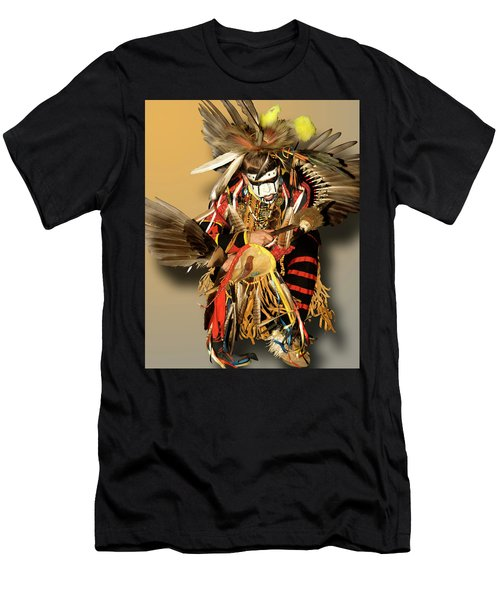 Traditional Native American Dancer Men's T-Shirt (Athletic Fit)