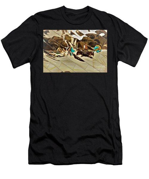 Traffic Along Euclid, Cleveland Men's T-Shirt (Athletic Fit)