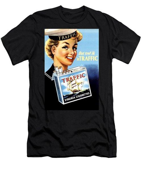 Traffic Cigarette Men's T-Shirt (Athletic Fit)