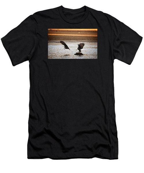 Traffic Control Men's T-Shirt (Athletic Fit)