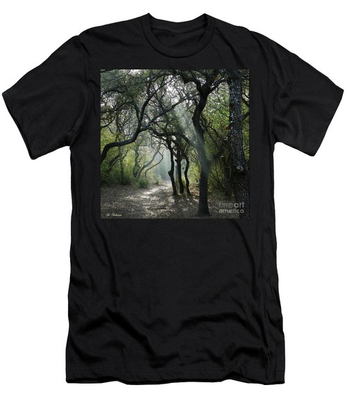 Trail Of Light Men's T-Shirt (Athletic Fit)