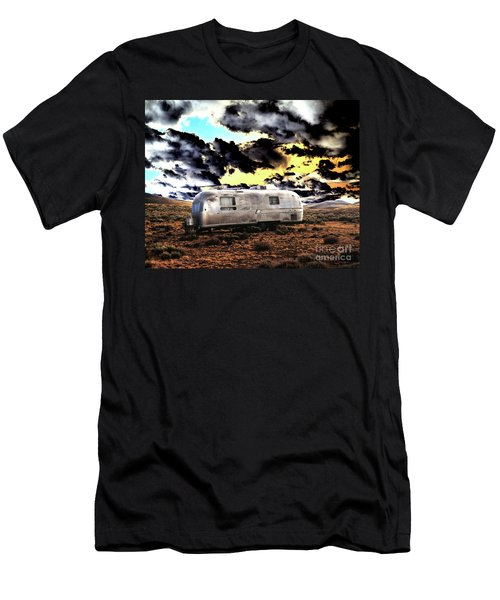 Men's T-Shirt (Slim Fit) featuring the photograph Trailer by Jim and Emily Bush