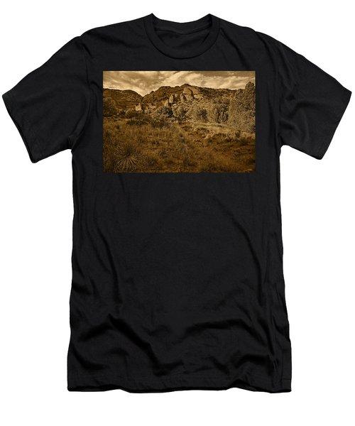 Trailing Along Tnt Men's T-Shirt (Athletic Fit)
