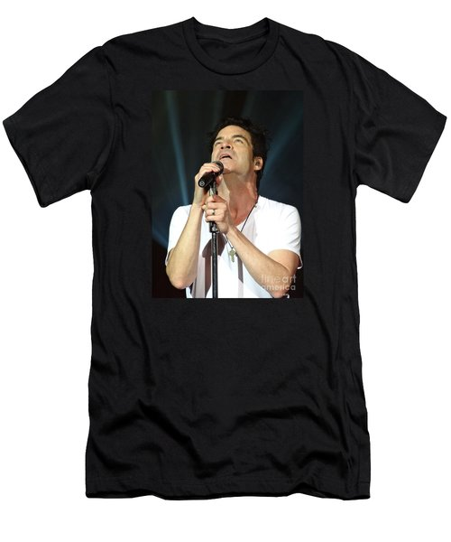 Train's Pat Monahan Men's T-Shirt (Athletic Fit)