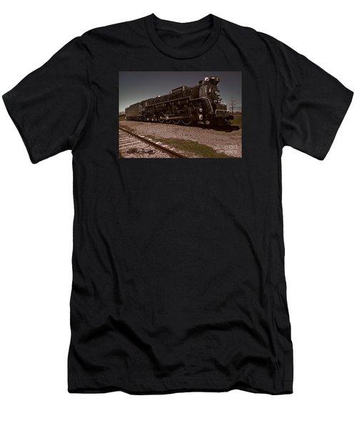 Train Engine # 2732 Men's T-Shirt (Athletic Fit)