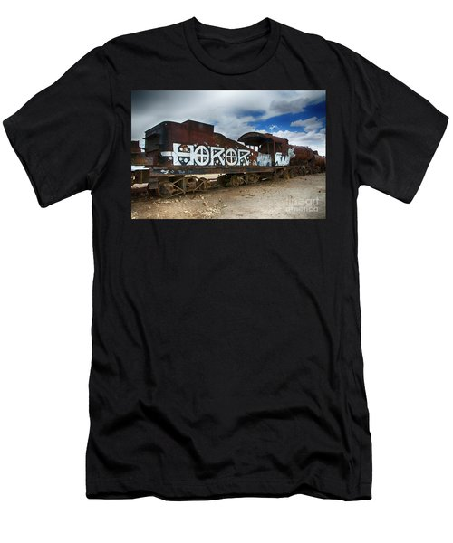 Train Graveyard Uyuni Bolivia 13 Men's T-Shirt (Athletic Fit)