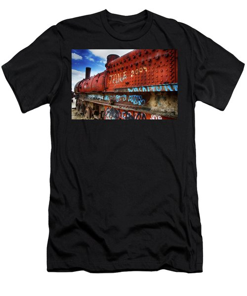Train Graveyard Uyuni Bolivia 17 Men's T-Shirt (Athletic Fit)