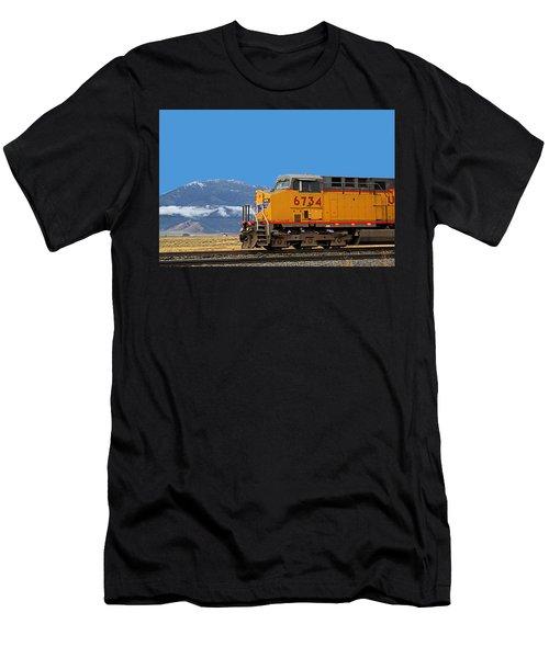 Train In Oregon Men's T-Shirt (Athletic Fit)