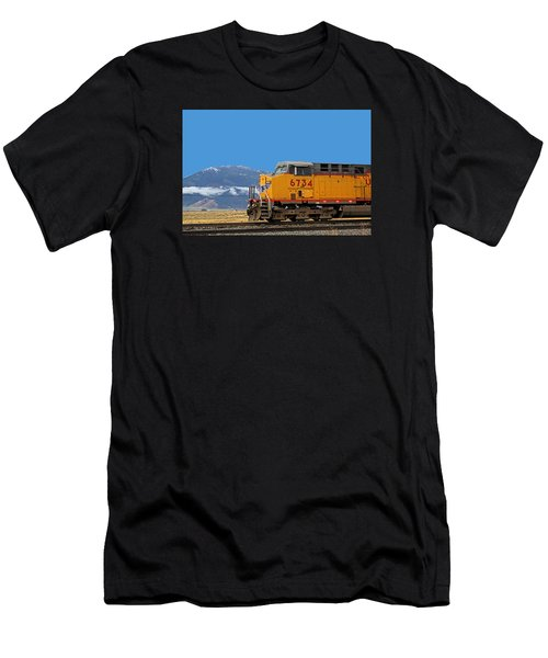 Train In Oregon Men's T-Shirt (Athletic Fit)