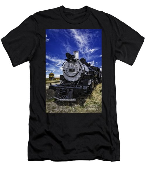 Train Kept A Rollin Men's T-Shirt (Athletic Fit)