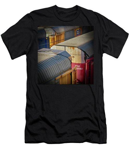 Trains - Nashville Men's T-Shirt (Athletic Fit)