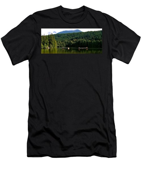 Tranquil Alice Lake Men's T-Shirt (Athletic Fit)