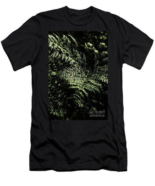 Tranquil Botanical Ferns Men's T-Shirt (Athletic Fit)
