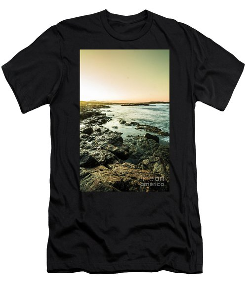 Tranquil Cove Men's T-Shirt (Athletic Fit)