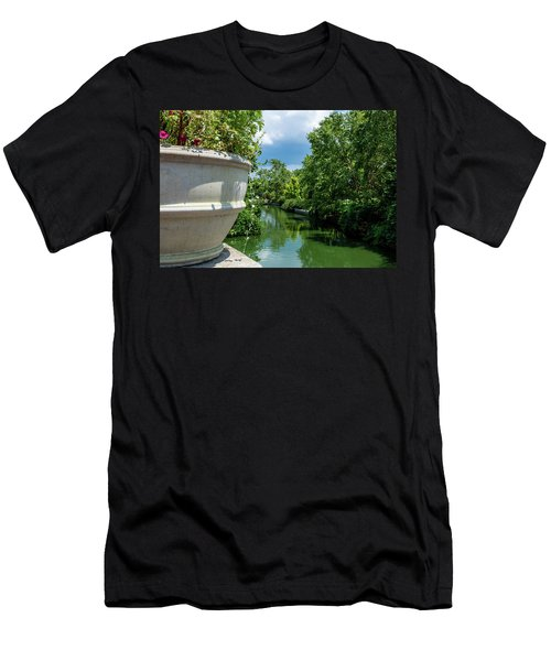 Tranquil Garden Men's T-Shirt (Athletic Fit)
