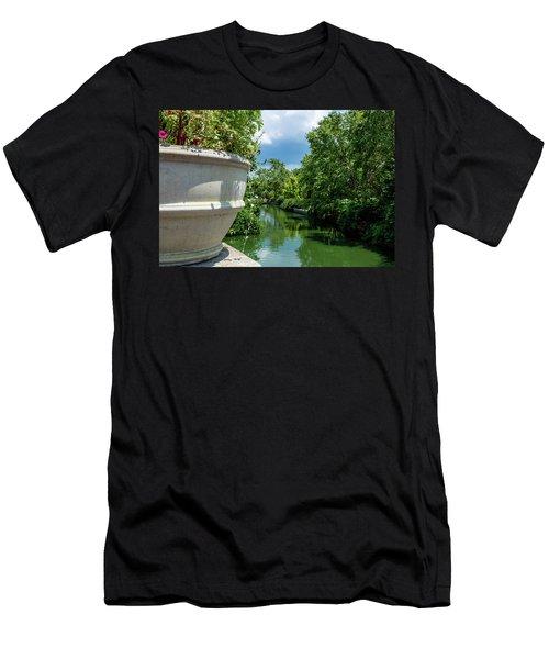 Tranquil Garden Men's T-Shirt (Athletic Fit)