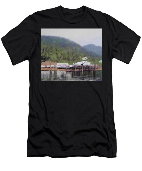 Tranquil Lake Canada Men's T-Shirt (Athletic Fit)