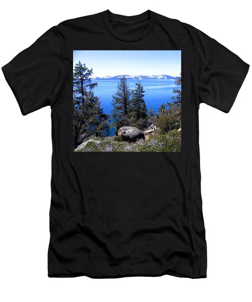 Tranquil Lake Tahoe Men's T-Shirt (Athletic Fit)