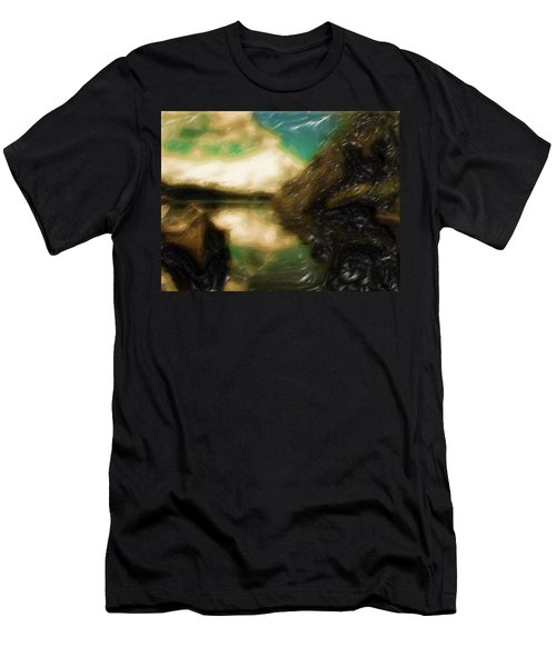Tranquil Nature Awaits Men's T-Shirt (Athletic Fit)