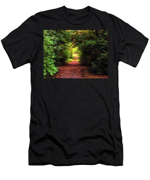 Tranquil Pond Men's T-Shirt (Athletic Fit)