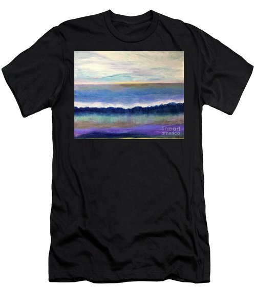 Tranquil Seas Men's T-Shirt (Athletic Fit)