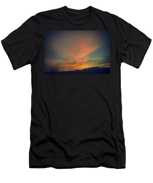 Tranquil Sunset Men's T-Shirt (Athletic Fit)