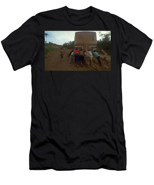 Trans Amazonian Highway, Brazil Men's T-Shirt (Athletic Fit)