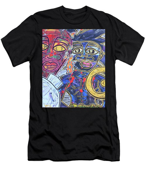 Transgenerational Karma Men's T-Shirt (Athletic Fit)