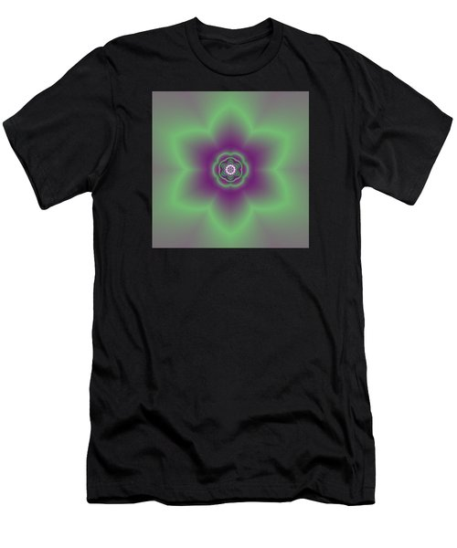 Transition Flower 6 Beats 2 Men's T-Shirt (Athletic Fit)
