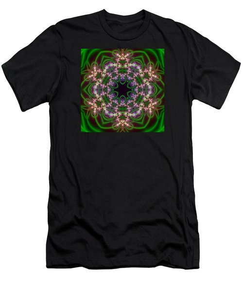 Transition Flower 6 Beats Men's T-Shirt (Athletic Fit)