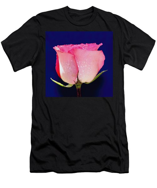Translucent Rose Men's T-Shirt (Athletic Fit)