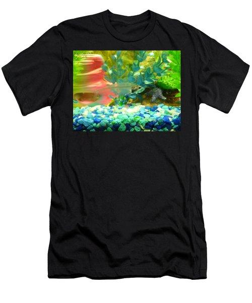 Transparent Catfish Men's T-Shirt (Athletic Fit)