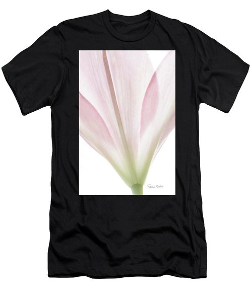 Transparent Lilly I Men's T-Shirt (Athletic Fit)