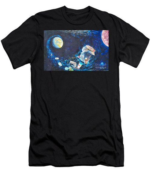 We Loved Earth At One Time - Yes We Did. Men's T-Shirt (Athletic Fit)