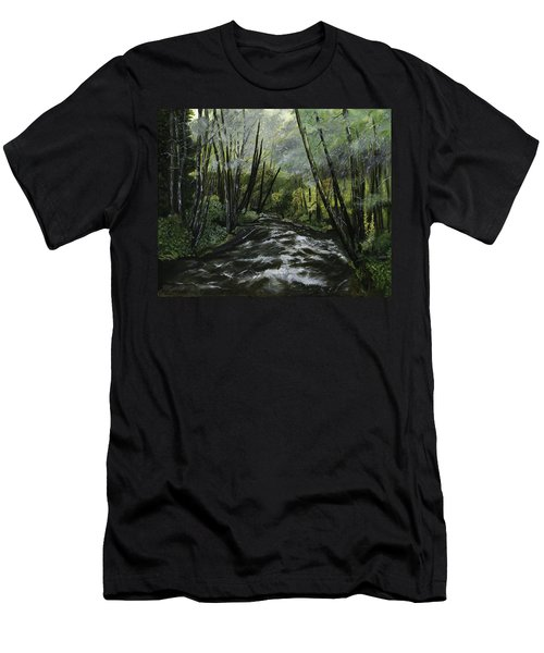 Trask River Men's T-Shirt (Athletic Fit)