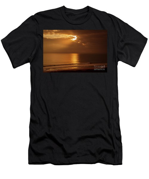 Treasure  Coast Sunrise Men's T-Shirt (Athletic Fit)