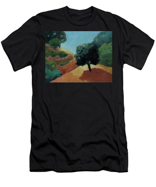 Tree Alone Men's T-Shirt (Athletic Fit)
