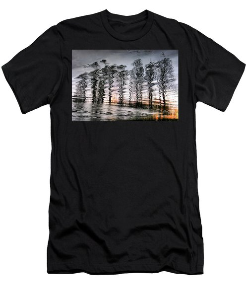 Tree And Reflection Men's T-Shirt (Athletic Fit)