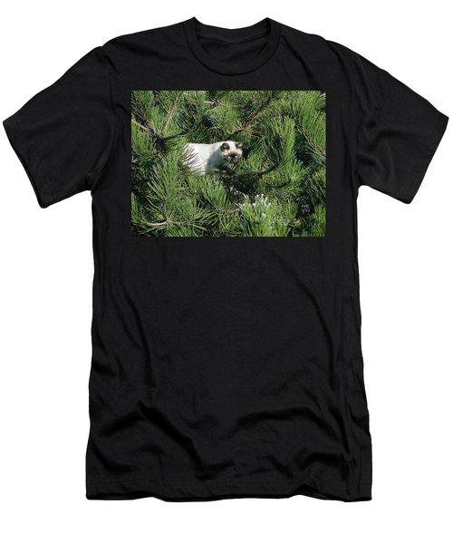 Tree Bandit Men's T-Shirt (Slim Fit) by Shirley Heyn